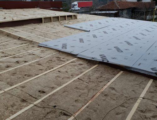Топлоизолация на покрива