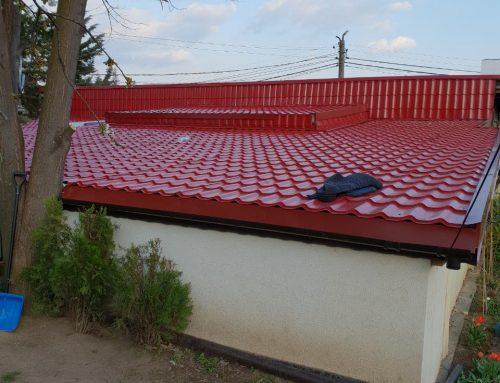Ремонт на покрив – област Пазарджик с.Вършило