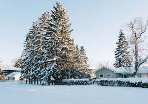как снега влияе на покрива ви